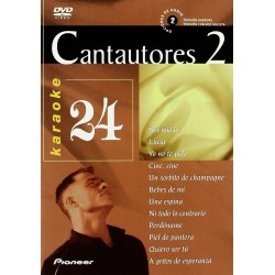 Karaoke Cantautores 2 Vol. 24 - DVD