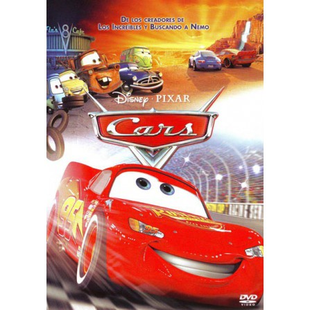 CARS DISNEY - DVD
