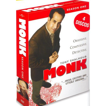 MONK S.1 UNIVERSAL - DVD