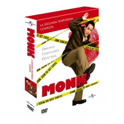 Pack Monk (2ª Temporada) - DVD