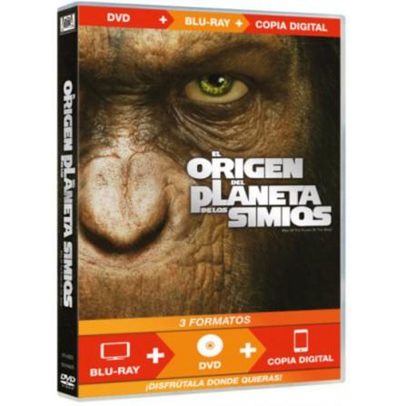 ORIGEN PLANETA SIMIOS(br+dvd+cd) FOX - BD