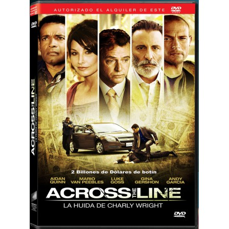 ACROSS THE LINE SONY - DVD