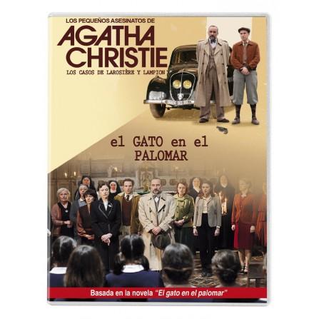 Los pequeños asesinatos de Agatha Christie: El gato en el Paloma - DVD