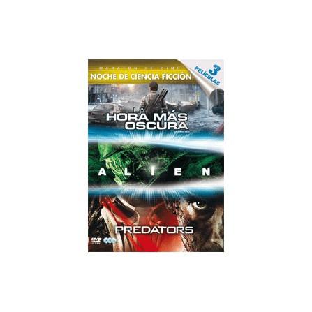 la hora mas oscura /alien 1/predators                            - DVD