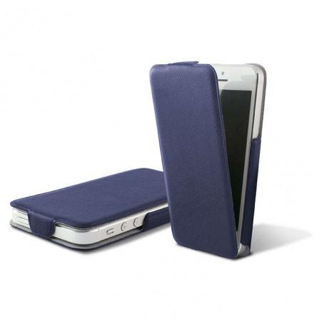 Funda tapa Ultra Slim iPhone 5/5s Azul