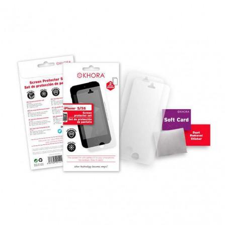 Set protector de pantalla iPhone 5/5s