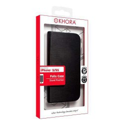 Funda folio Black iPhone 5/5s