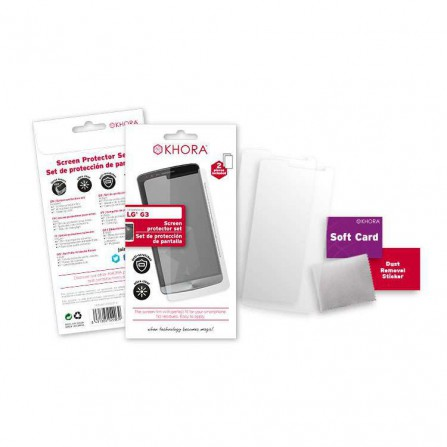 Set protector de pantalla LG G3