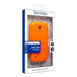 Funda flexible Fluo Edition Orange S4 Mini