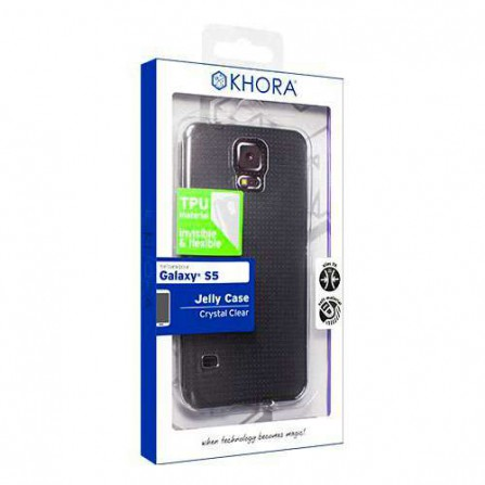 Funda flexible Crystal Clear S5