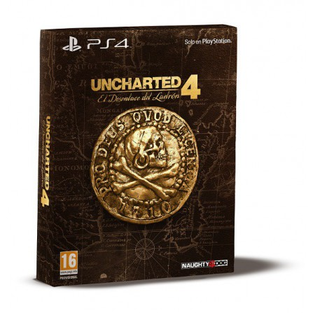 Uncharted 4 El desenlace del Ladrón Special Edition - PS4