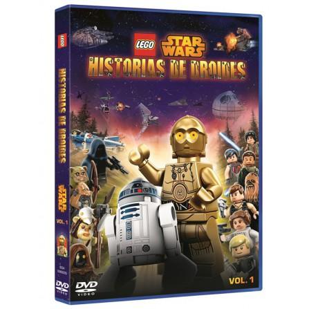 LEGO Star Wars Historias de Droides Vol 1 - DVD