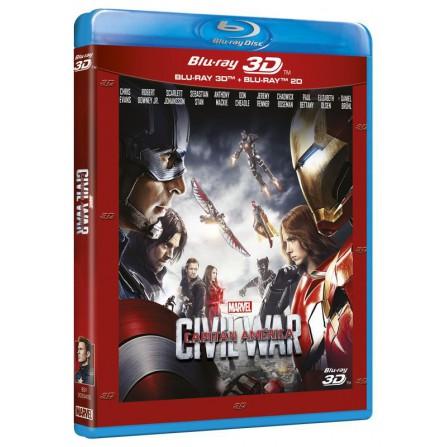 Capitán América: Civil War (3D + BD) - BD
