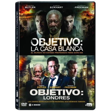OBJETIVO CASA BLANCA+LONDRES FOX - DVD