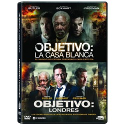 Pack Objetivo: La Casa Blanca / Objetivo: Londres - BD