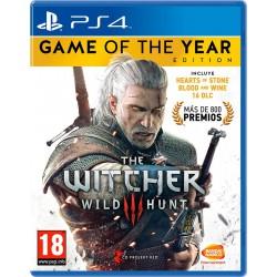 The Witcher 3 Wild Hunt Edición GOTY - PS4