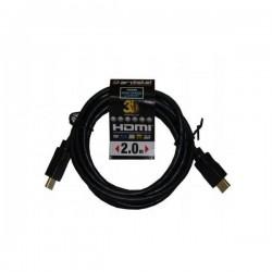 CABLE HDMI 1,4 2Mt. (3D-4K)ADT/PS4