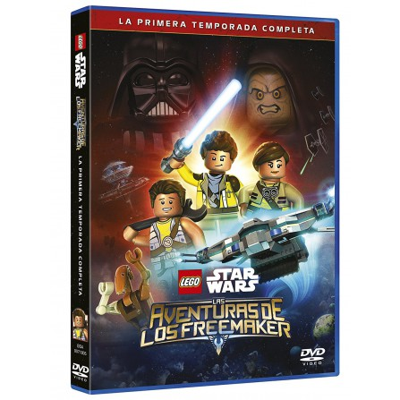 Lego Star Wars: Las Aventuras De Los Freemakers - DVD