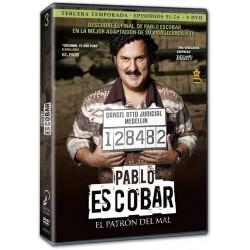 Pablo Escobar. El patrón del mal - Temporada 3 - BD