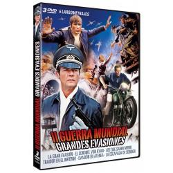 II Guerra Mundial - Grandes evasiones - DVD