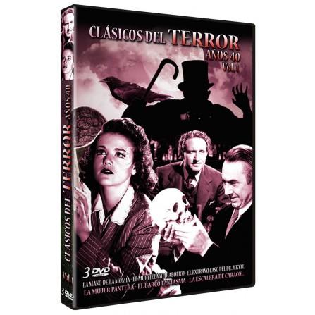 Clasicos del terror Años 40 - Vol. 1 - DVD