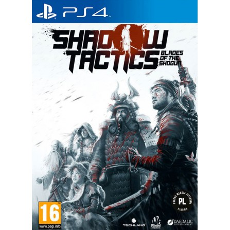 SHADOW TACTICS BLADES OF THE SHOGUN/PS4