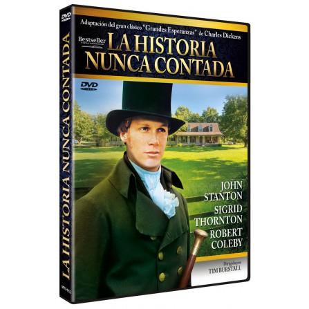 La historia nunca contada - DVD