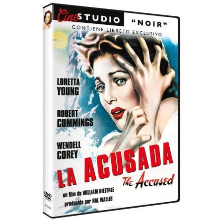 ACUSADA. CINE STUDIO NOIR MAPETAC - DVD