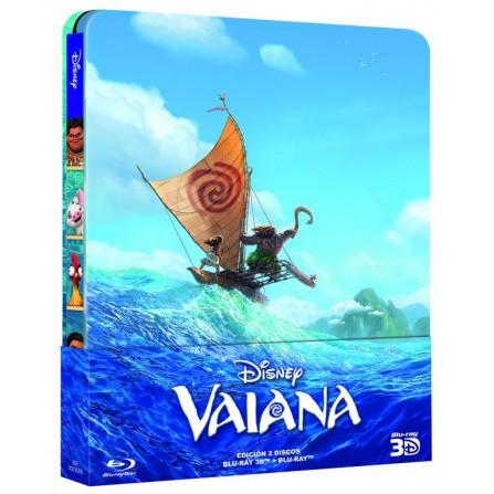 Vaiana (Steelbook BD3D+BD) - BD