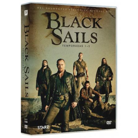 Black Sails (Temporadas 1-3) - DVD