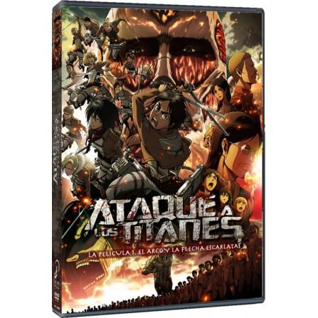 Ataque a los titanes .La Película. Parte 1. El Arco y la flecha. - DVD