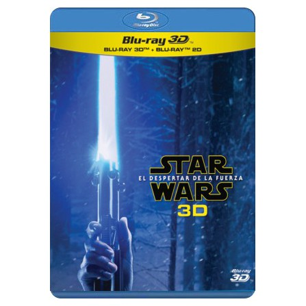 STAR WARS:DESPERTAR FUERZA BD3D DISNE - BD