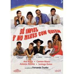 SE INFIEL Y NO MIRES CON QUIEN DIV - DVD