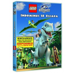 LEGO Jurassic World: indominus se escapa - DVD