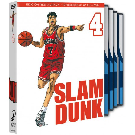 SLAM DUNK BOX 4 FOX - DVD