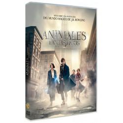 ANIMALES FANTASTICOS Y DONDE FOX - DVD