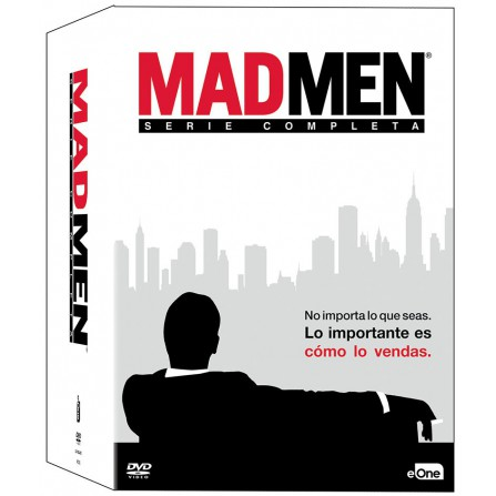 PACK MAD MEN (Serie Completa) FOX - DVD