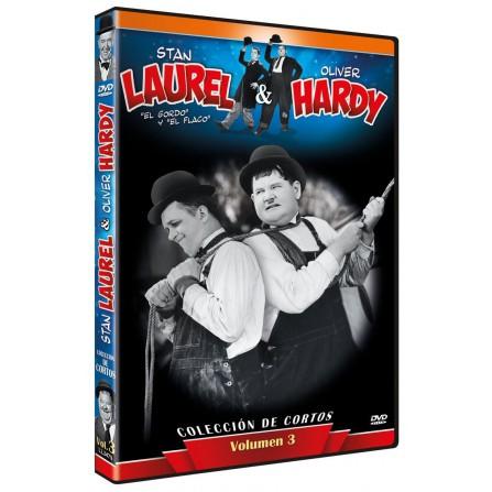 Laurel & Hardy - Colección de Cortos Vol. 3 - DVD