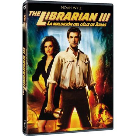 El bibliotecario. La maldición del cáliz de Judas - DVD