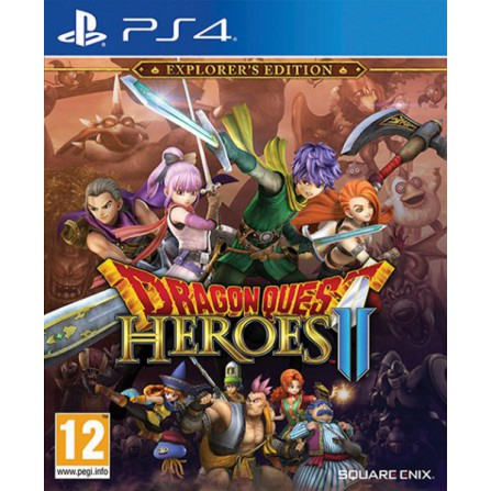 DRAGON QUEST HEROES II EXPLORER EDT/PS4