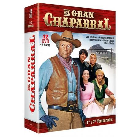 Gran Chaparral Temp 1 + 2 - DVD
