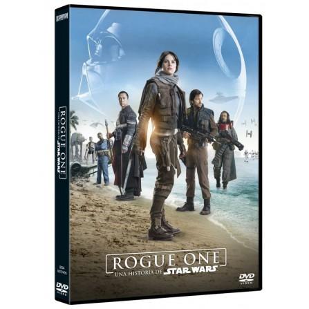 ROGUE ONE:HISTORIA STAR WARS DISNEY - DVD