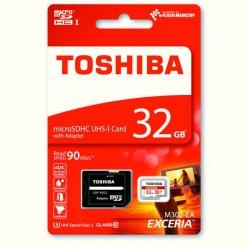 Memoria Toshiba Exceria 32GB + Adaptador Clase 10