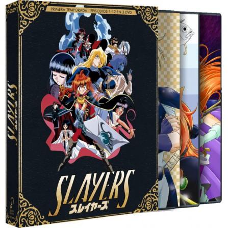 Slayers Box 1 (Edición Coleccionistas) - DVD
