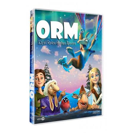 Orm en el reino de las nieves - DVD