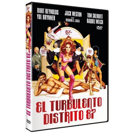 TURBULENTO DISTRITO 87, EL LLAMENTO - DVD