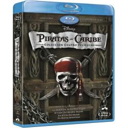 Piratas del caribe - Cuatrilogía + Bonus - BD