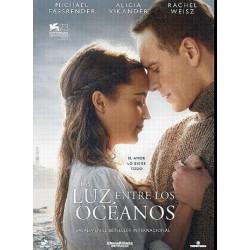 LUZ ENTRE LOS OCEANOS NAIFF - DVD