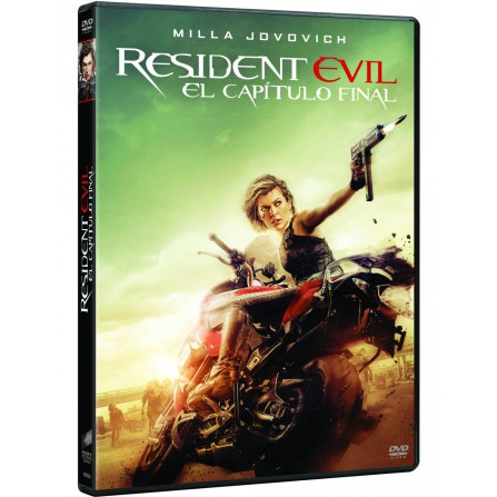 RESIDENT EVIL:CAPITULO FINAL SONY - DVD
