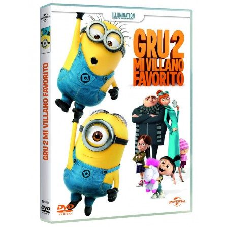 Gru 2: Mi Villano Favorito (Edición 2017) - DVD